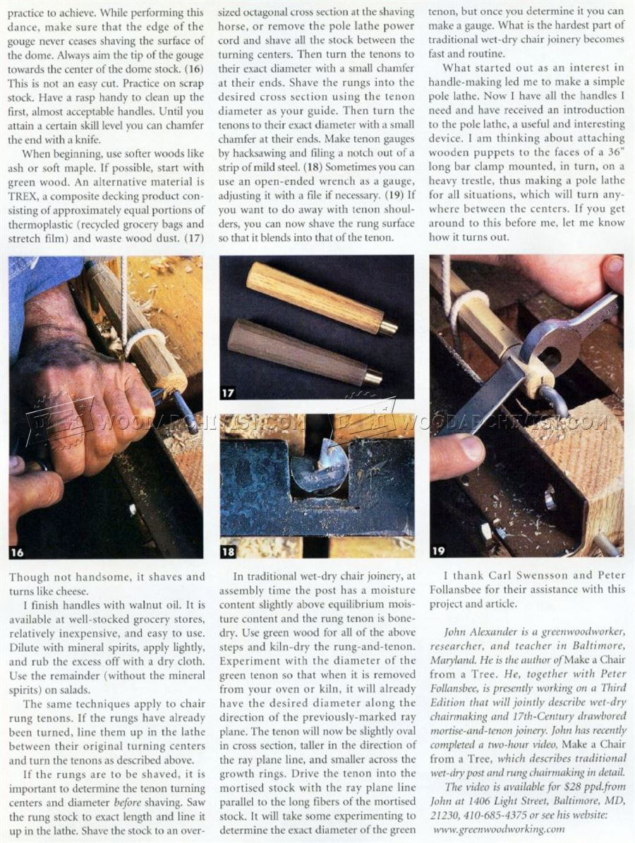 DIY Pole Lathe