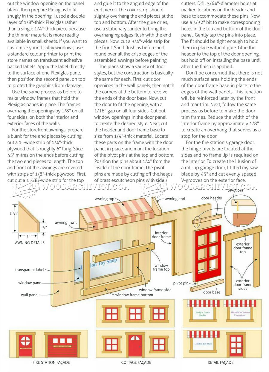 Toy House Plans