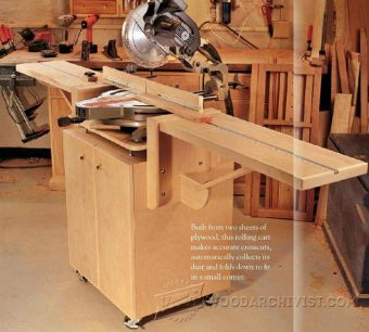 3200-Ultimate Miter Saw Stand Plans