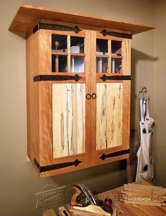 3202-Wall Tool Cabinet Plans