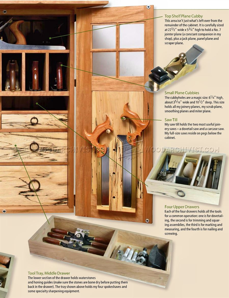 Wall Tool Cabinet Plans