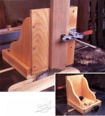 3205-Table Saw Tenon Jig Plans