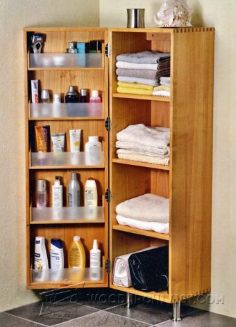 3210-Bathroom Cabinet Plans