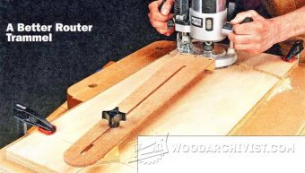 3213-Router Trammel Jig Plans