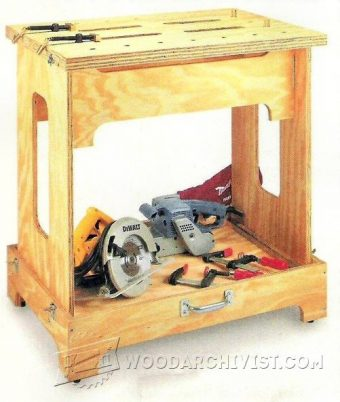 3218-Knock Down Workbench Plans