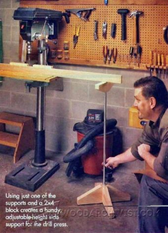 3222-Drill Press  Support Plans