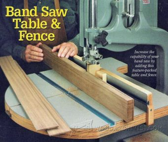 3224-Band Saw Table Plans