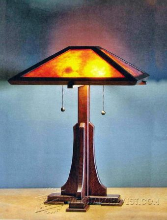 3227-Prairie Table Lamp Plans