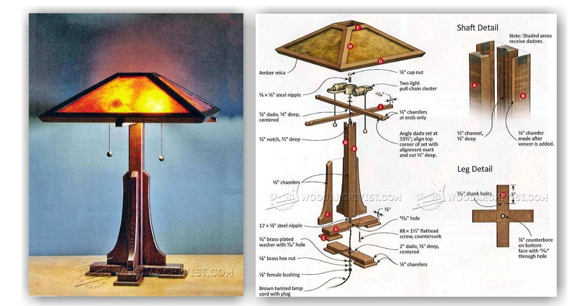Table Lamp Plans ~ Best Inspiration for Table Lamp