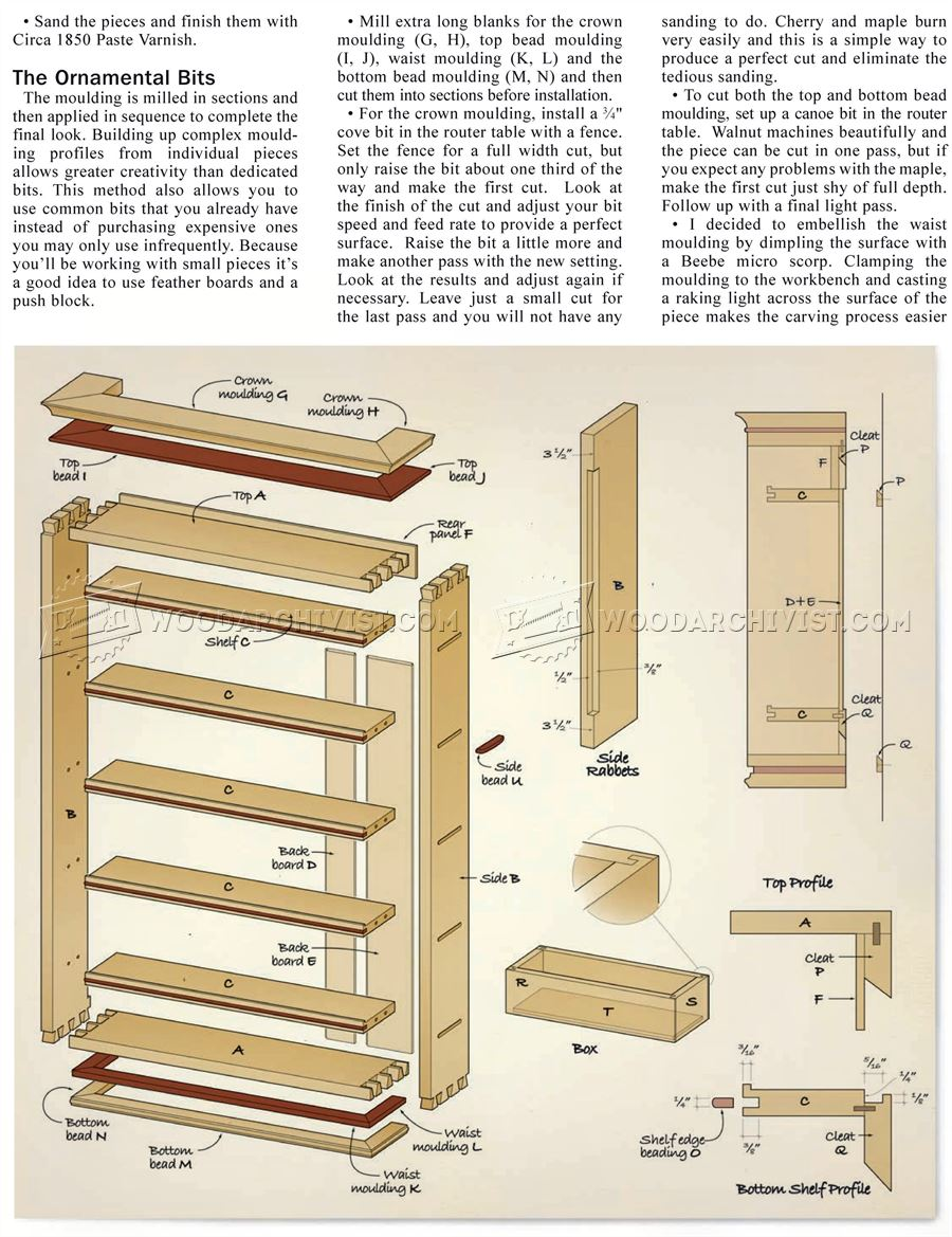 Hand Tool Rack Plans Woodarchivist