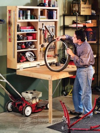 3234-Fold Down Workbench Plans