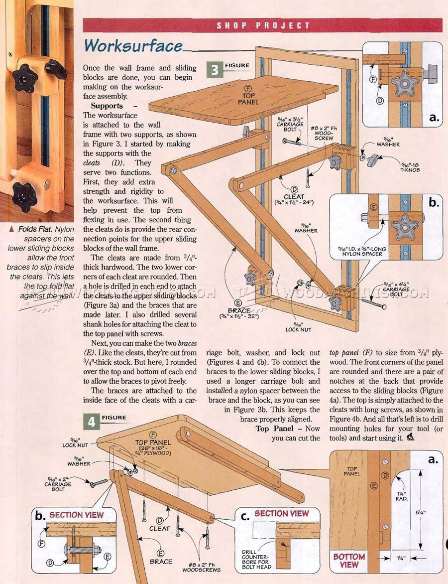 Scroll Saw Stand Plans