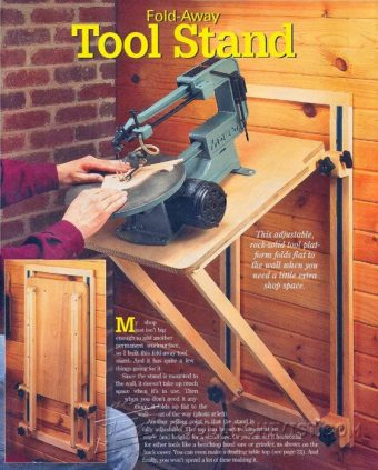 3238-Scroll Saw Stand Plans