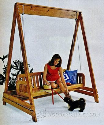 3239-Porch Swing Plans