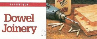 3241-Dowel Joinery