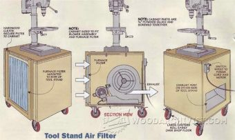 3246-Tool Stand Air Cleaner