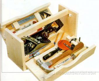 3255-DIY Wood Tool Box