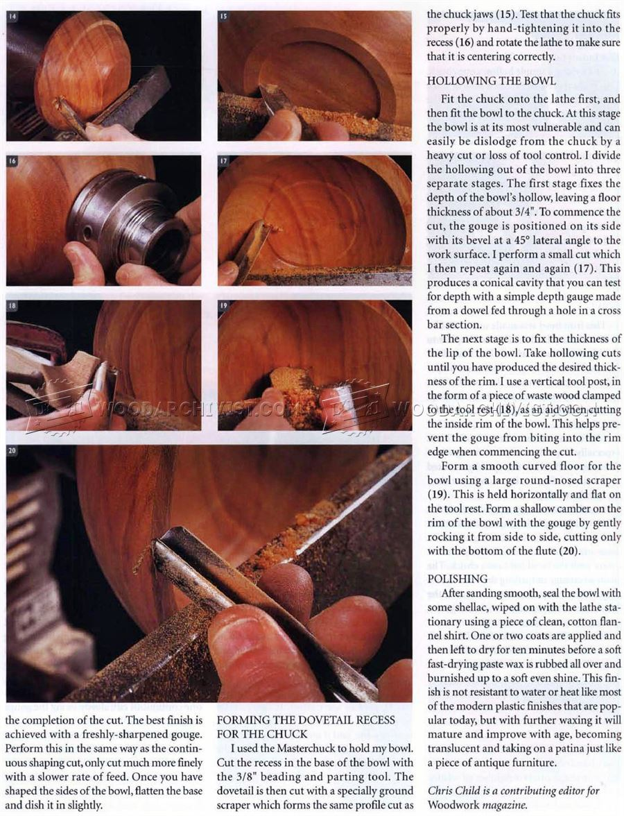 Woodturning Fruit