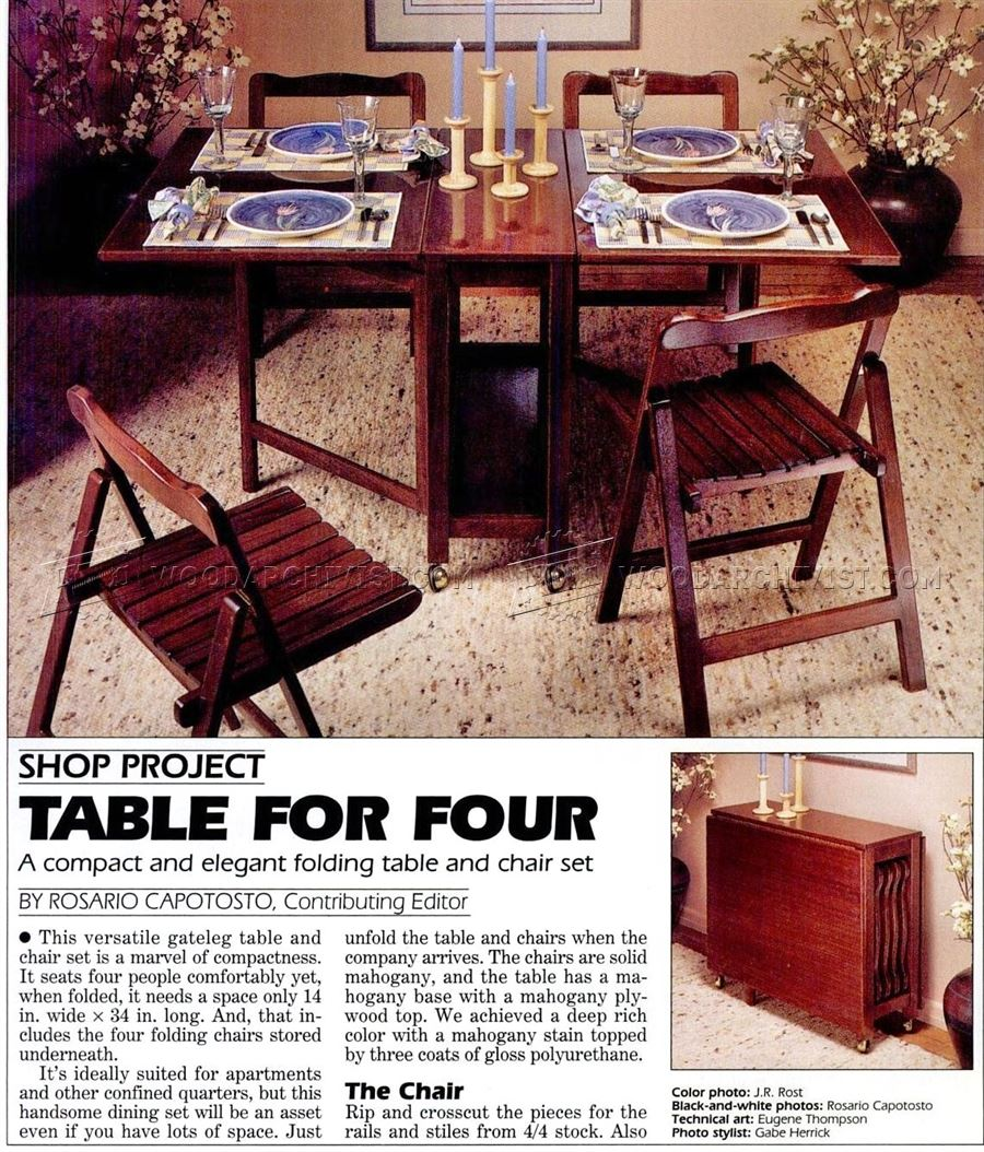 folding table and chairs set plans o folding t