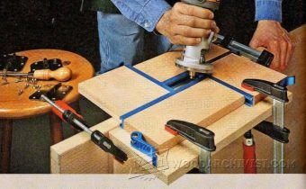 3262-DIY Hinge Mortising Jig