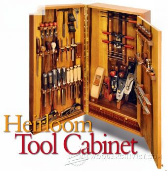 3263-Wall Tool Cabinet Plans