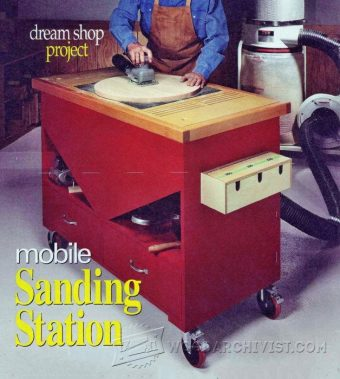 3269-Downdraft Sanding Table Plans