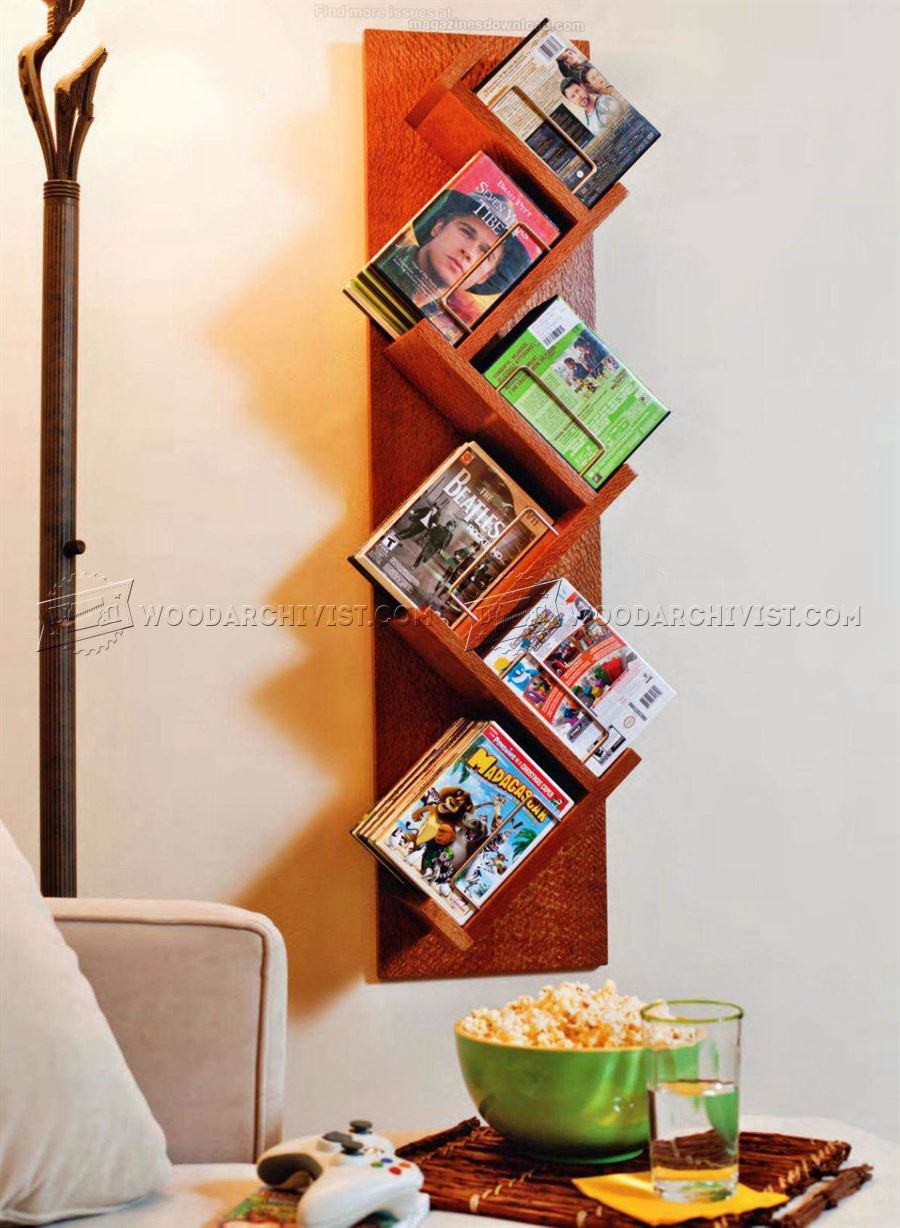 Media Storage Shelf Plans