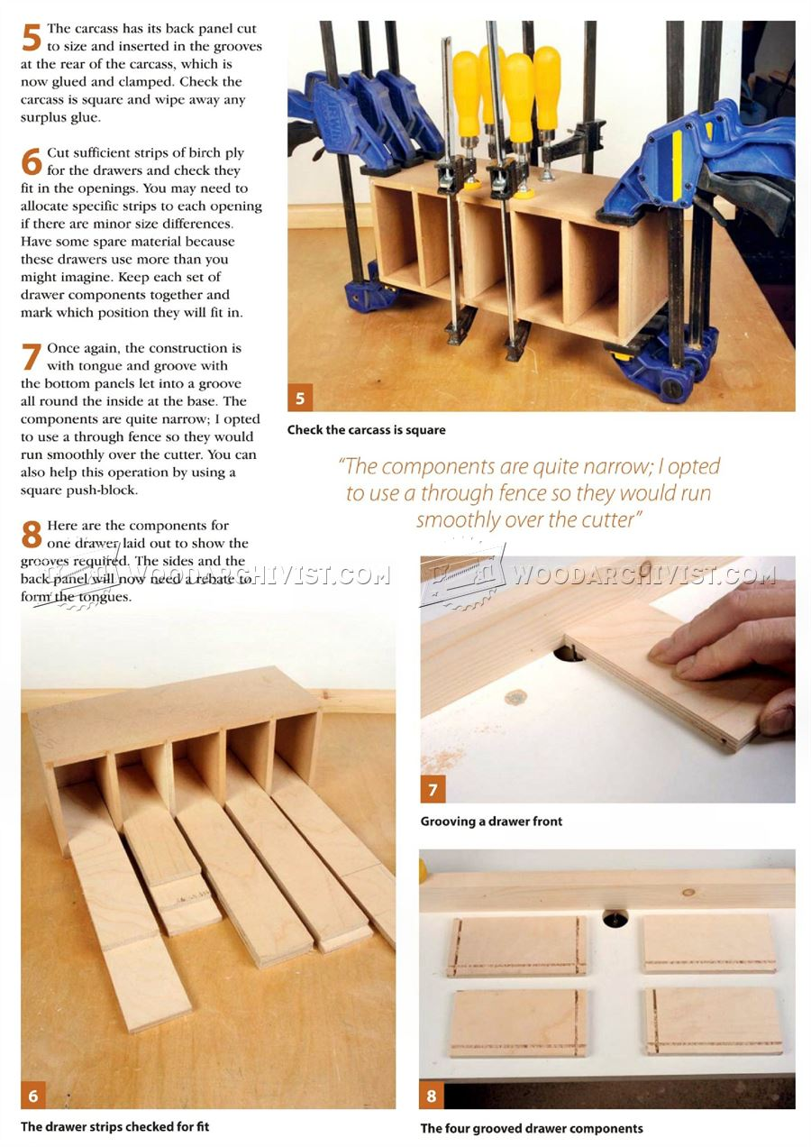 Small Chest Of Drawers Plans O WoodArchivist