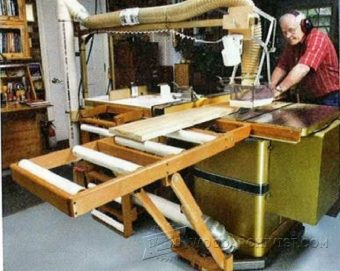 3283-Table Saw Outfeed Table Plans