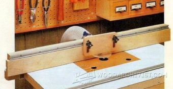3288-Router Table Fence Plans