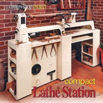 3289-Wood Lathe Stand Plans