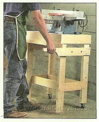 3293-Mobile Tool Stand Plans
