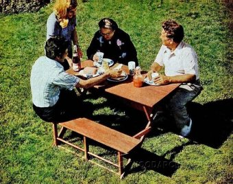 3299-Folding Picnic Table Plans