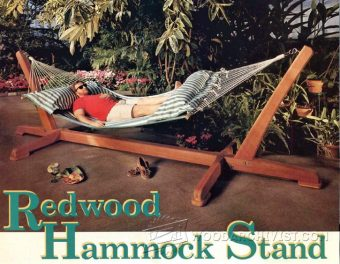3300-Hammock Stand Plans
