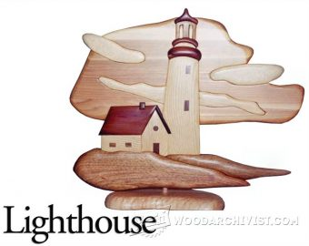 3304-Lighthouse - Intarsia Projects
