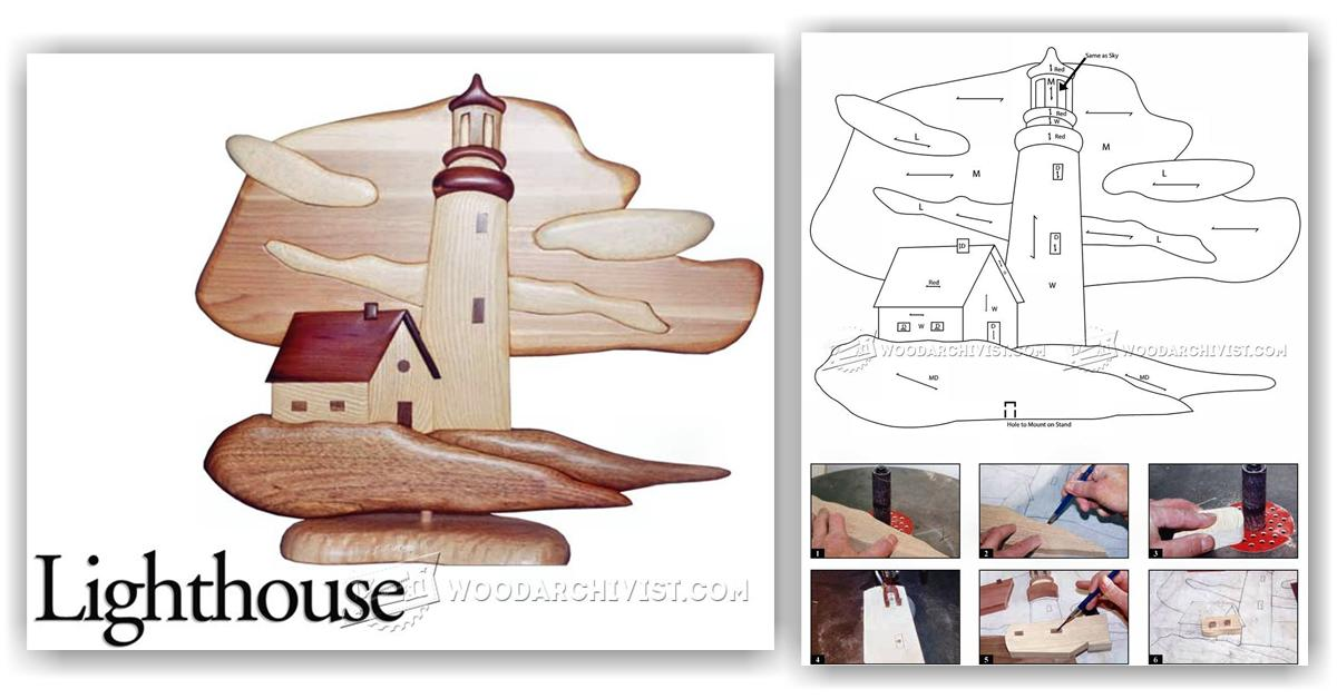 Lighthouse Intarsia Projects Woodarchivist