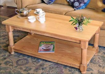 3305-Ash Coffee Table Plans