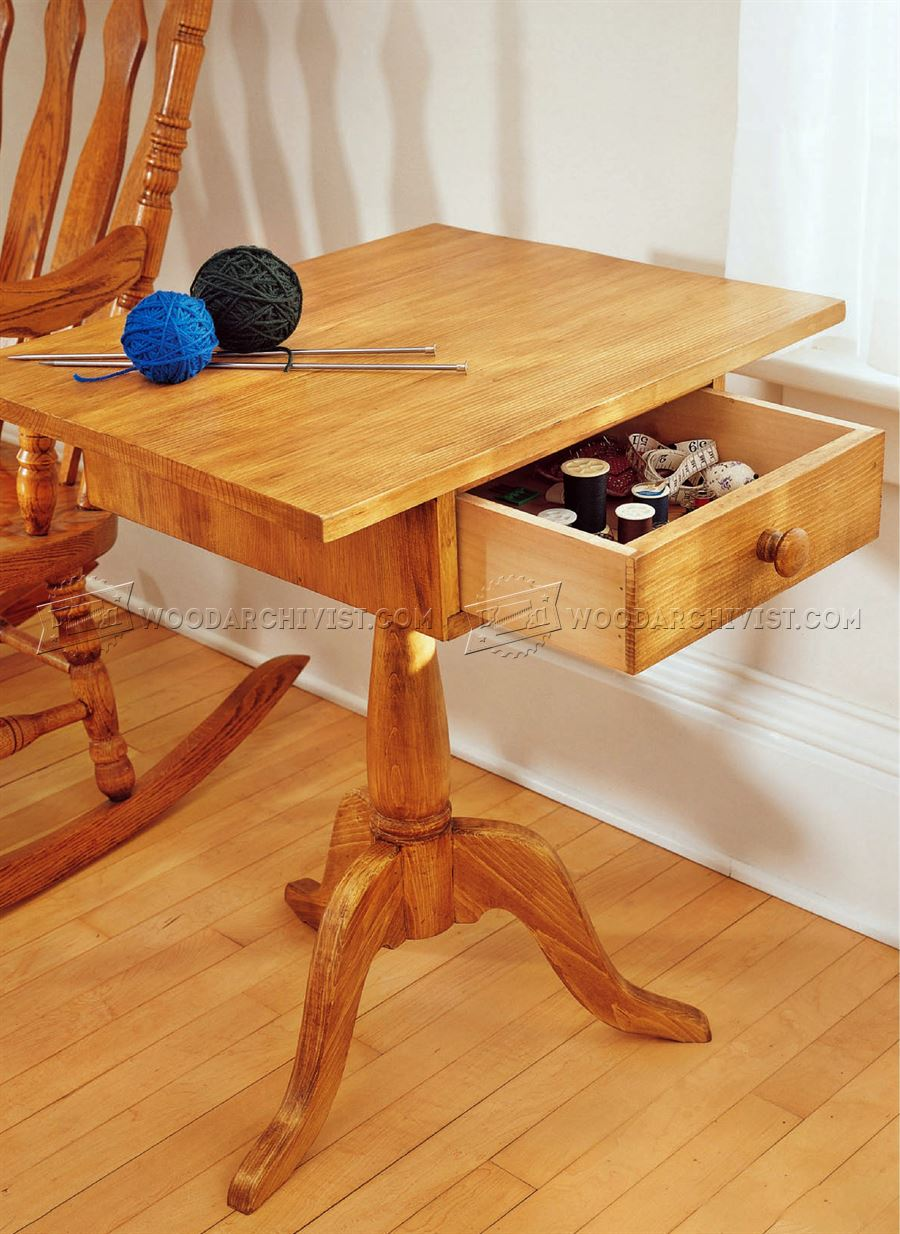 Sewing Stand Plans