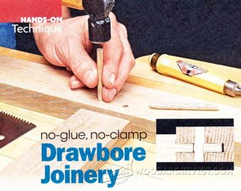 3312-Drawbore Joinery