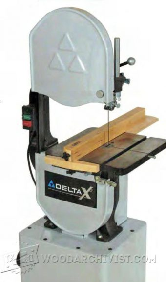 3317-Band Saw Rip Fence Plans