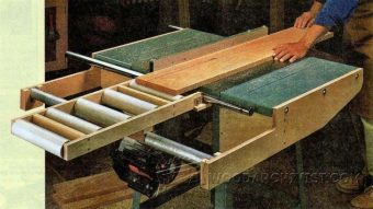 3324-Table Saw Outfeed Table Plans