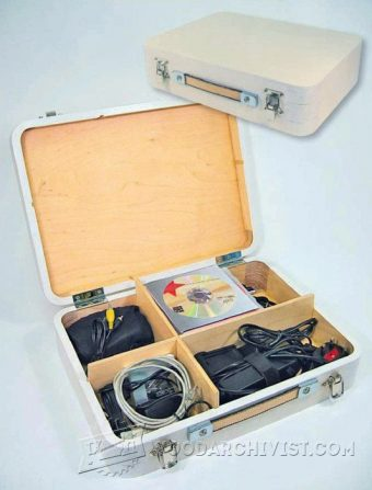 3327-Wooden Attache Case Plans