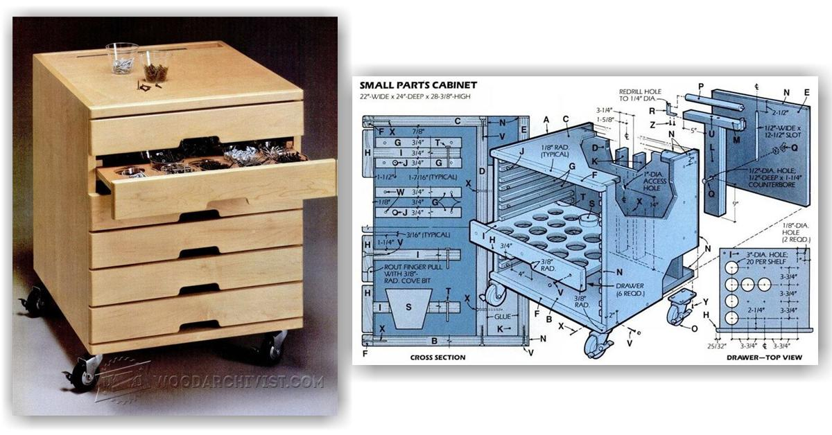 Hardware Storage Cabinet Plans Woodarchivist
