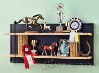 3334-Trophy Shelf Plans