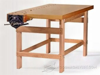 3336-Simple Workbench Plans