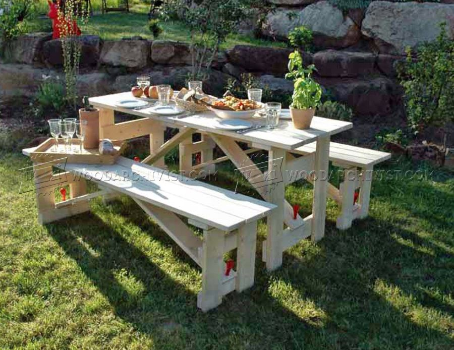 Small Picnic Table Plans