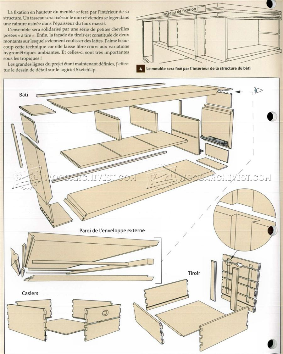 Bathroom vanity woodworking plans