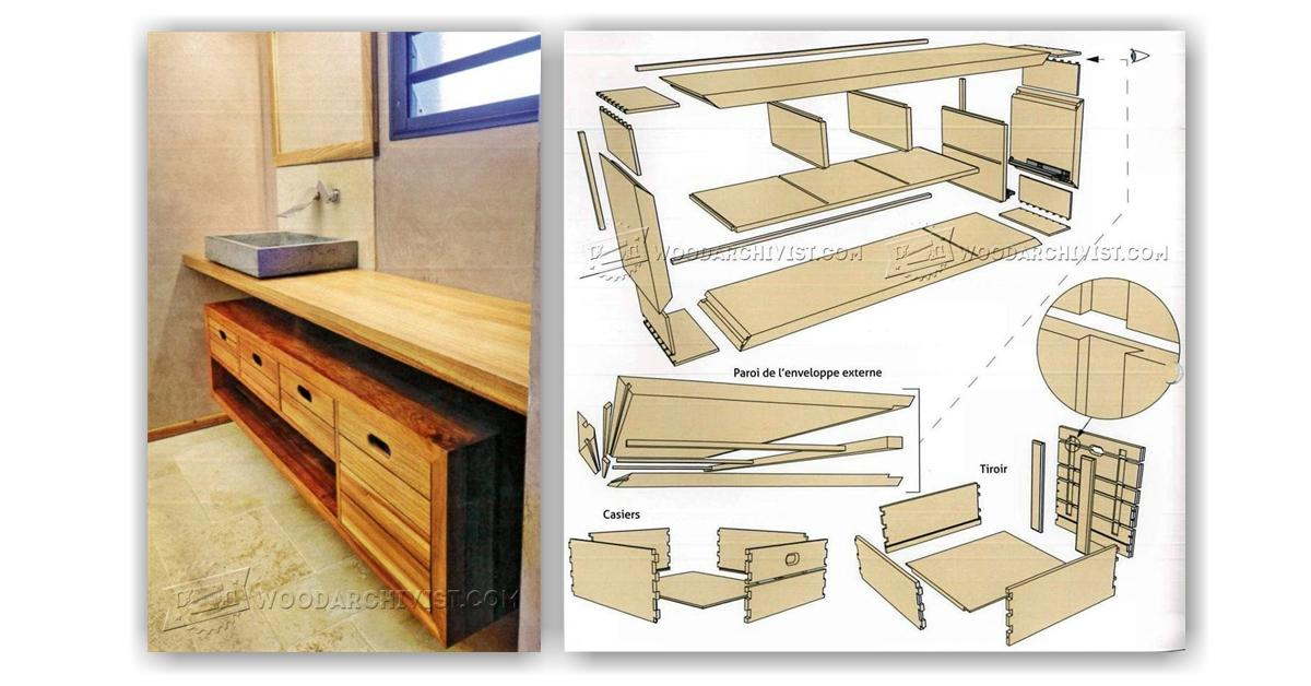 Bathroom Vanity Plans Woodworking 28 Images Bathroom Vanity Woodworking Plans Woodshop Plans