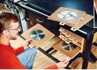 3352-Table Saw Blade Organizer Plans