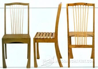3353-Frame Chair Plans